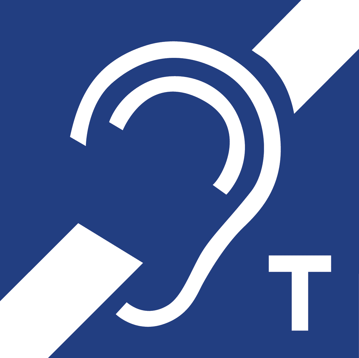 Induction loop signage