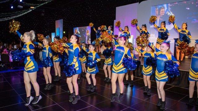 Yorkshire Children of Courage Awards 2019 Cheerleaders