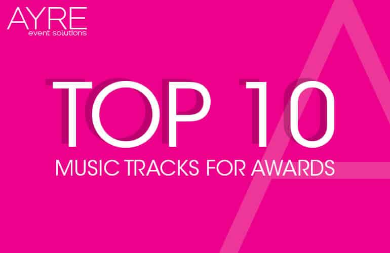 Top 10 Awards Tracks Q1 2020