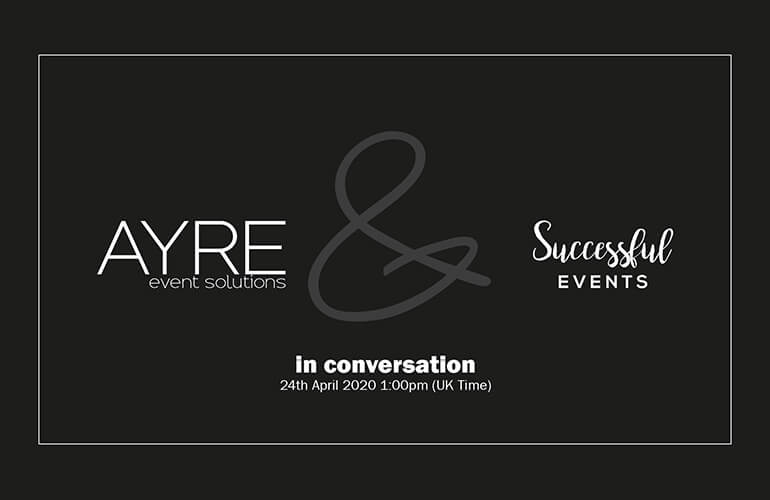 In conversation with James Manford from Successful Events