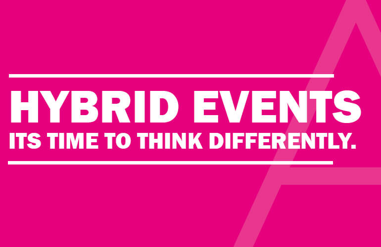 Hybrid Conferences – they're not as scary as you think.
