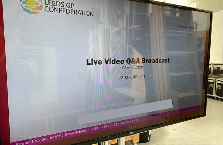 Conference Webcasting Services from AYRE Event Solutions