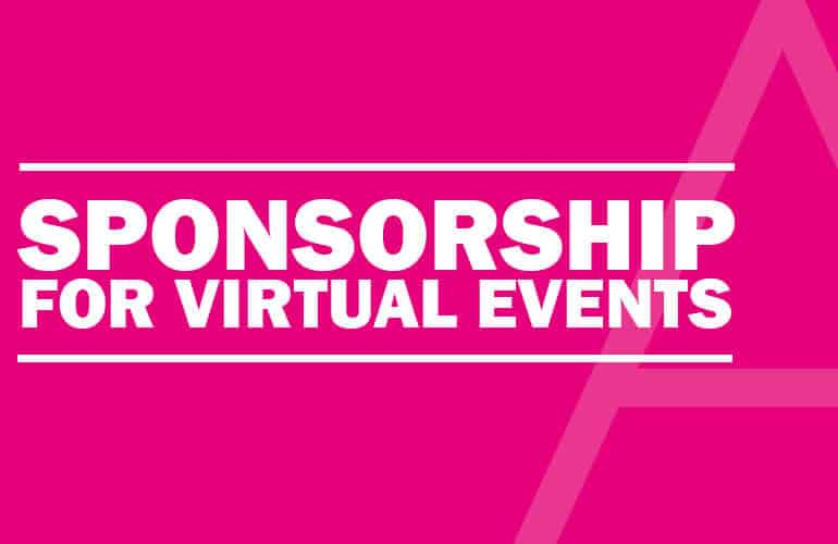 Keep sponsors happy and deliver value for money at your virtual event