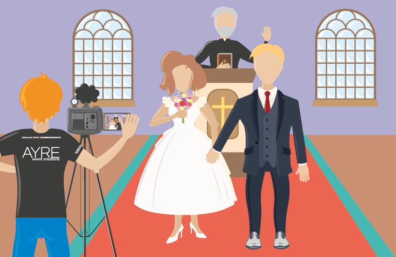 Planning a virtual Wedding, keeping your family and friends connected.