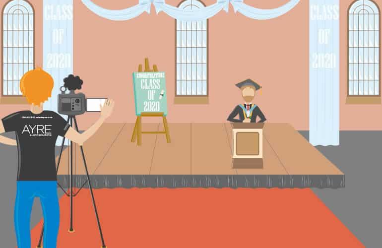 Hosting a virtual graduation? Here's some advice...
