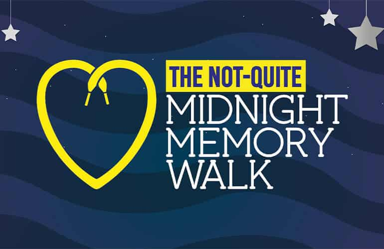 Kirkwood Hospice - Not Quite Mid Night Memory Walk